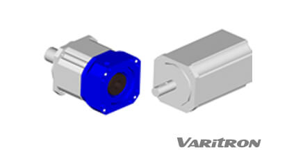 mounting side dimension on planetary gearbox with servo motors' output flange and shafts.